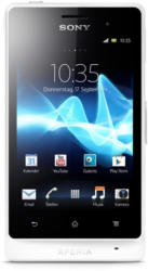 Xperia Go weissST27i