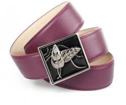 Anthoni Crown Ledergürtel mit handgefertigter Fashion-Schließe