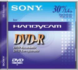 Sony DMR30A DVD-R 30MIN 8CM DVD-R 1,4GB