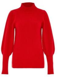 Patentstrick-Pullover mit Keulenärmeln