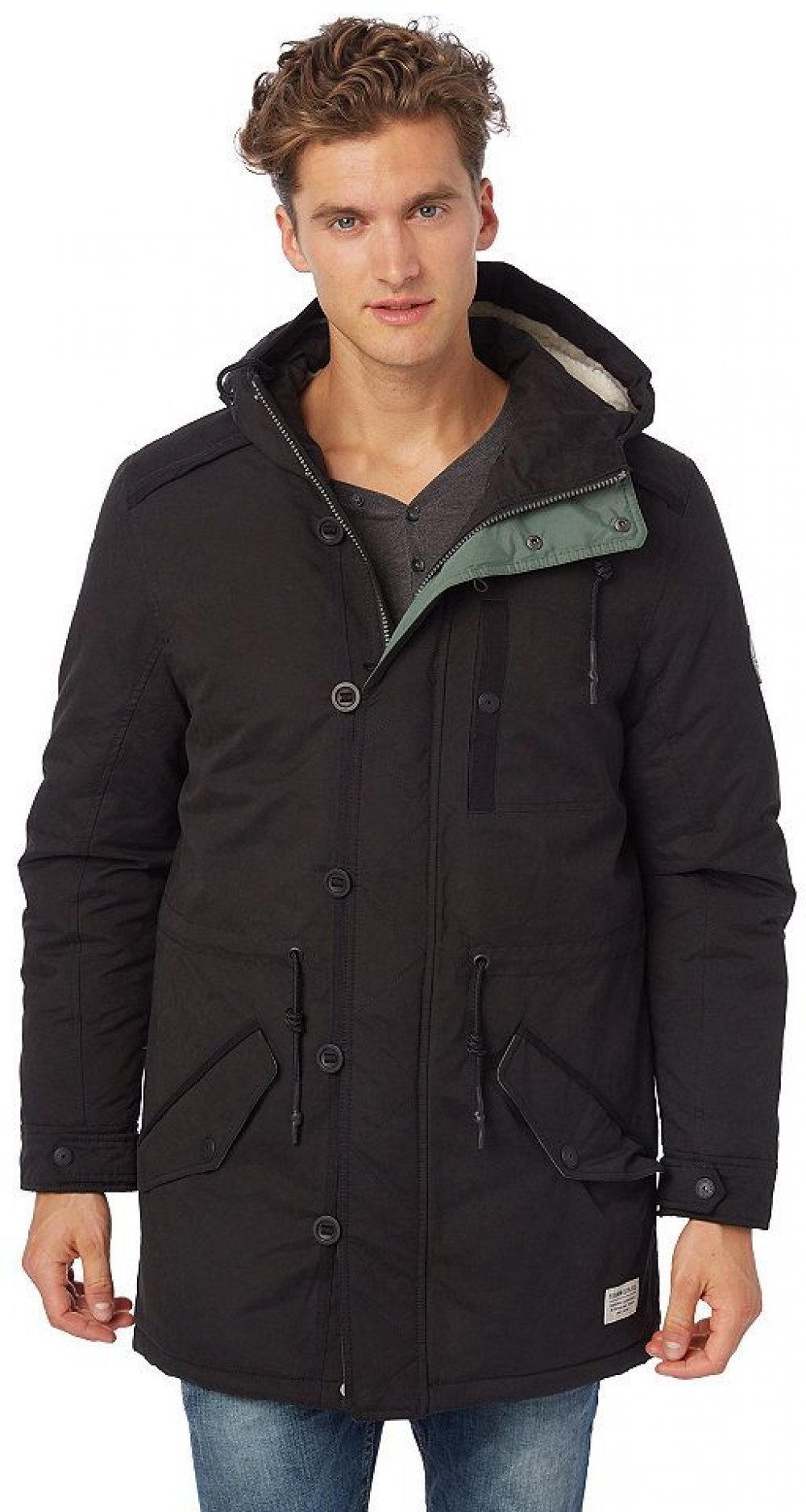 Tom Tailor Parka mit Patches