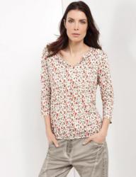 Gerry Weber T-Shirt 3/4 Arm Rundhals »3/4 Arm Shirt mit Tunikaausschnitt«