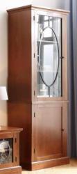Home affaire Vitrine »Lugano«, mit Glastür und Eisen-Dekor, Breite 70 cm