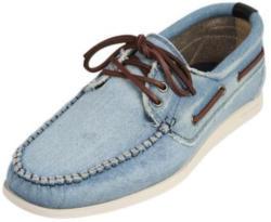 Mokassins in Jeans-Optik