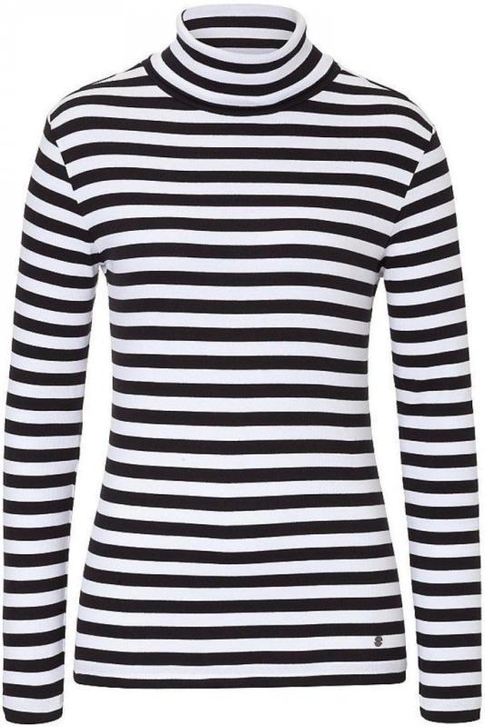 BRAX Chelsea - Damenshirt »Smartes Rollkragenshirt mit Ringelmuster«