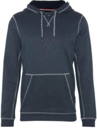 Sweatshirt ´hoody with contrast stitchings´