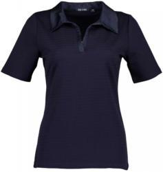 Blue Seven Poloshirt »mit gestrickten Streifen«