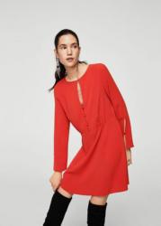 MANGO Kleid mit Zierausschnitt