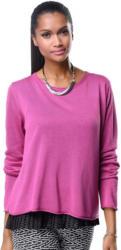 Alba Moda Pullover aus schönem Feinstrick mit Rollsaum