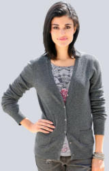 Alba Moda Strickjacke aus reinem Kaschmir