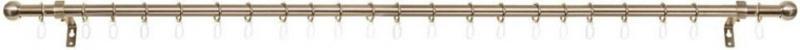 Gardinenstange, Lichtblick, »Kugel«, ausziehbar 120 - 230 cm, ø 16/20 mm, 1-läufig im Fixmaß