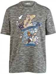 Men Plus by Happy Size T-Shirt mit Scottland-Print