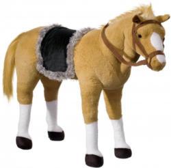 Plüschtier mit Sound, Heunec, »Pferd stehend mit Satteldecke«