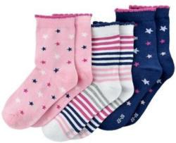3 Paar Mädchen-Socken