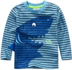 Jungen Langarmshirt mit Hai-Motiv