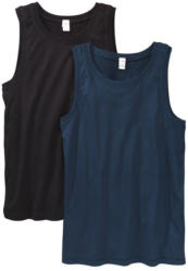 2 Jungen-Unterhemden