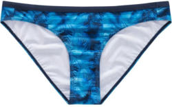 Damen Bade-Slip mit Farn-Motiv