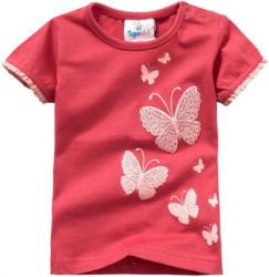 Baby T-Shirt mit Schmetterling-Print