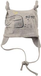 Newborn Mütze mit Zipfeln