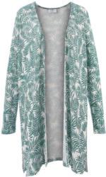 Damen Strickjacke mit Blätterdesign