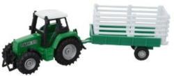 Spielzeug Traktor mit Anhänger