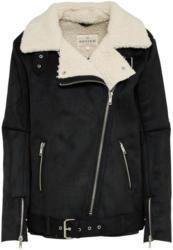 Mantel aus Lederimitat ´Shearling´