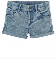 Jeansshorts mit Moonwashed-Waschung