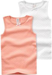 2 Baby Unterhemden mit Pünktchen