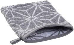 Waschhandschuh mit Stern-Ornament