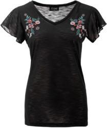 Damen T-Shirt aus Flammgarn