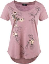 Damen T-Shirt mit Blumenprint