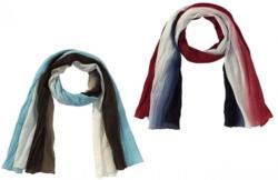 Damen-Schal mit Crash-Effekten