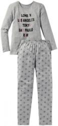 Mädchen-Schlafanzug mit Stern-Muster, 2-teilig