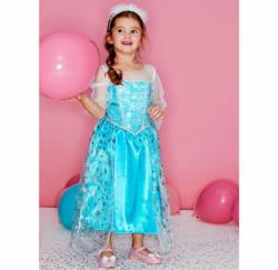 Prinzessin-Kinderkostüm mit zauberhaften Applikationen