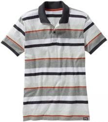 Herren-Poloshirt mit modischen Streifen
