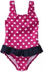 Mädchen-Badeanzug mit Punkte-Muster