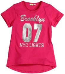 Mädchen-T-Shirt mit Zahlen-Frontaufdruck