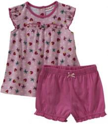 Baby-Mädchen-Set mit Kleidchen, 2-teilig