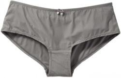 Damen-Panty mit dünnen Streifen
