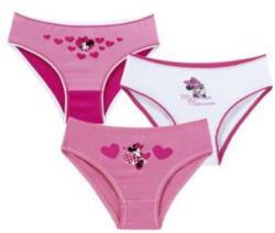 Minnie Mouse-Mädchen-Slip, 3er Pack
