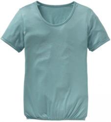 Damen-T-Shirt mit elastischem Bund