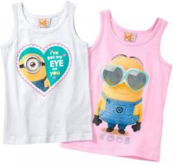 Minions Mädchen-Unterhemd, 2er Pack