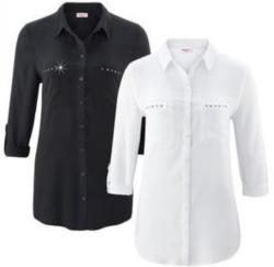 Damen-Langarm-Bluse