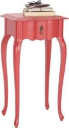 Ambia Home Beistelltisch In 40/75/30 Cm Rot  rot