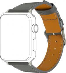 topp Ersatz-/Wechselarmband »Leder mit Ziernaht für Apple Watch (42/44 mm)«