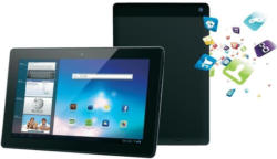 Odys Aeon Internet Tablet/Tablet PC 16 GB WiFi 33,78 cm (13,3) Schwarz Dual Core 1,6 GHz (Cortex A9) Android™ 4.1