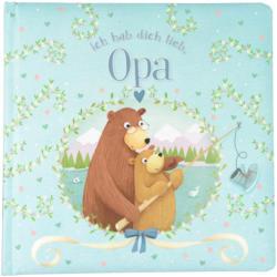 """Kinder Bilderbuch """"Ich hab dich lieb, Opa"""""""