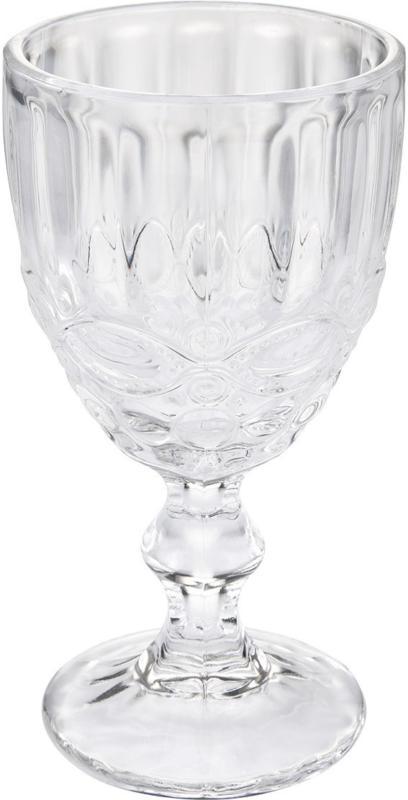 Weinglas mit schönen Verzierungen (Nur online)