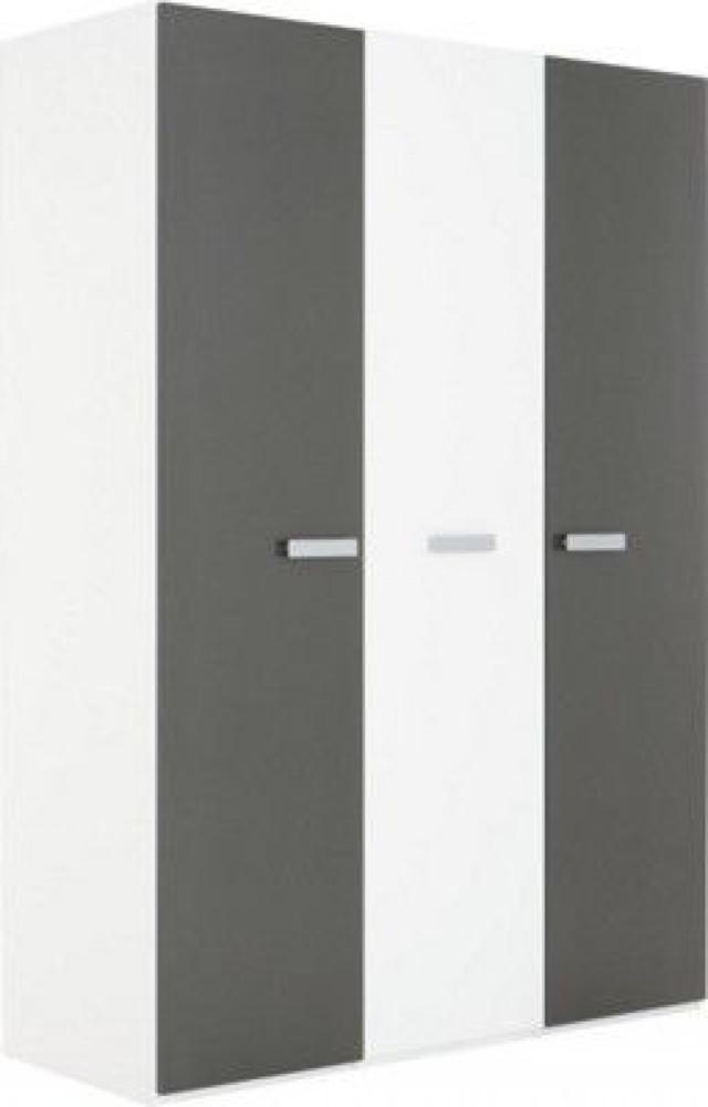 wogibtswas.at   Xora Kleiderschrank In Graphitfarben, Weiß graphitfarben, weiß € 399,00 statt € ...