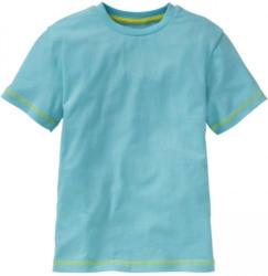 Jungen-T-Shirt mit Ziernähten